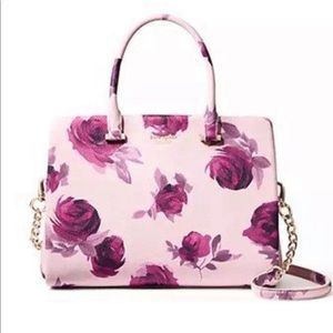 Kate Spade Emerson Place Olivera Plum Rose Purse